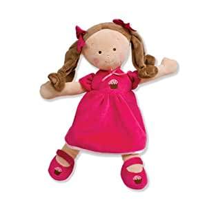 Amazon Com Personalized Little Princess Cupcake Doll 14 Inch Brunette Custom Baby