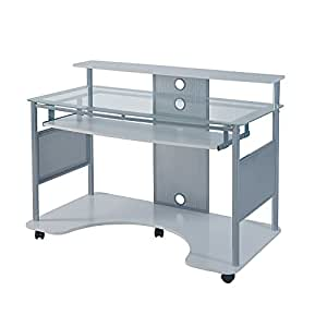 Amazon Com Z Line Designs Mobile Workstation Desk 36 Quot H