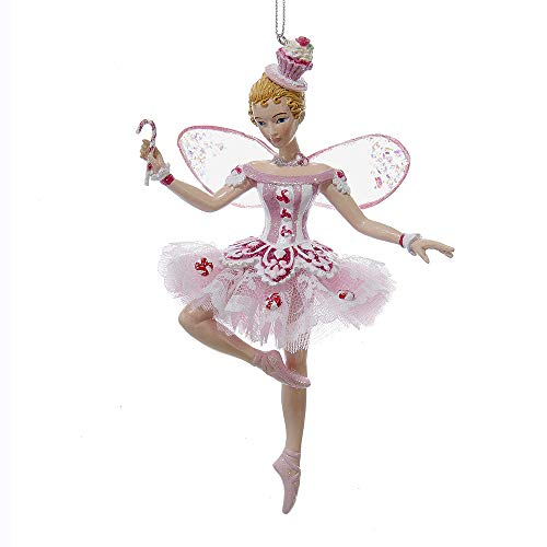 Kurt Adler Sugar Plum Fairy 6-inch Resin Christmas Ornament