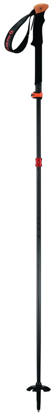 Scott Cascade C Ski Pole - Black 120-135