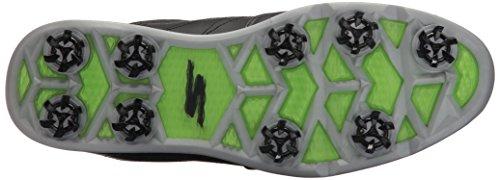 Skechers Mens Go Golf Pro 3 Golf Shoe Black/Silver Z4rTLB2oc7