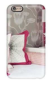 Excellent Iphone 6 Case Tpu Cover Back Skin Protector White Daybed With Hot-pink Wall And Pops Of Color