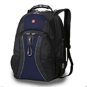 Amazon Com Swissgear Scansmart Laptop Backpack Blue