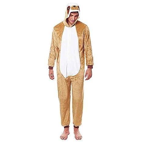 Disfraz Pijama Oso Perezoso Adulto Unisex (S) (+ Tallas ...