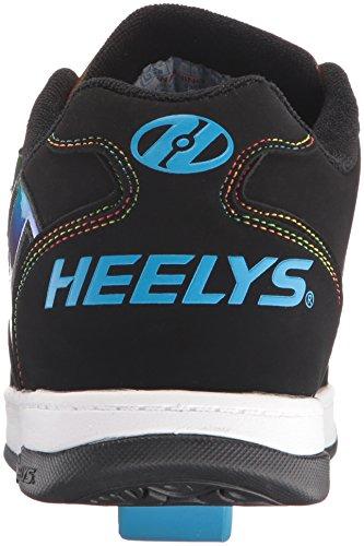 ... Heelys Drive 2,0 Mens Sneaker Sort (sort / Regnbue Folie) ...