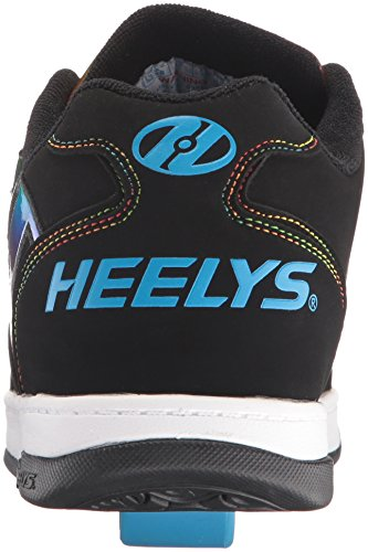 Heelys Drive 2,0 Mens Sneaker Svart / Regnbue / Folie