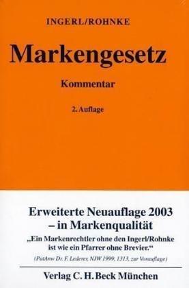Read Online Markengesetz. Gesetz über den Schutz von Marken und sonstigen Kennzeichen. ebook