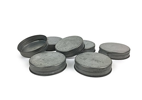 Mason Jar Lids - Fits standard size Mason Jars - Set of 12