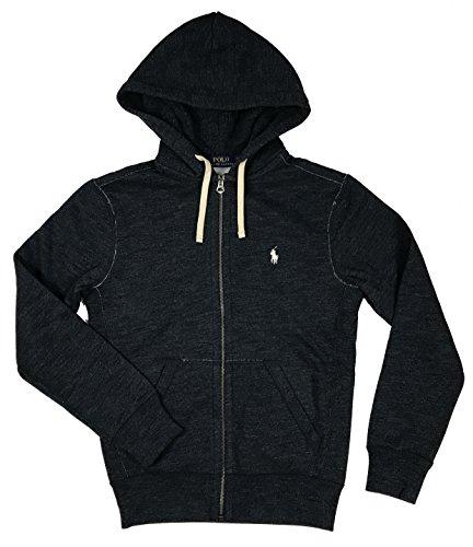 - Polo Ralph Lauren Classic Full-Zip Hooded Sweatshirt, BLUE HEATHER (S)