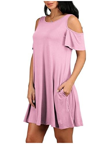 Womens Solid Crewneck Off Dress As14 Coolred Plus Size Mini Club
