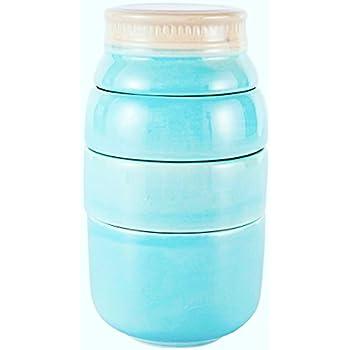 Wentao Mason Jar Porcelain Kitchenware Measuring Cups ,Set of 4