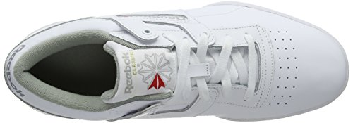 Adulto De 38 5 grey Reebok Low Gimnasia Blanco Eu Zapatillas white Unisex Int Workout nTwPqawtY