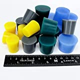 20pc Extra Large High Temp Silicone Rubber Plug Kit Powder Coating Custom Paint Supplies
