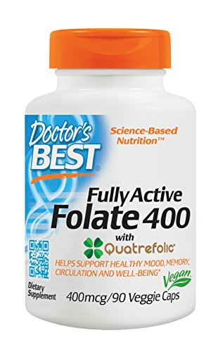 3. Doctor's Best – Fully Active Folate 400
