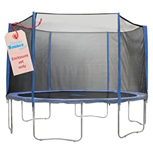 Upper Bounce 6 Pole Trampoline Enclosure Set (Trampoline not Included), 7.5-Feet