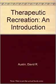 introduction recreation Recreation and leisure is a nonstop industry with phenomenal growth, tremendous potential, and diverse career paths and options introduction to recreation and leisurepresents a new-millennium view of this evolving field that -presents historical, philosophical, and social aspects of the.