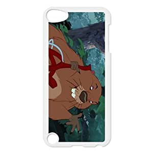 iPod Touch 5 Case White Lady and the Tramp Character Beaver as a gift H6981818