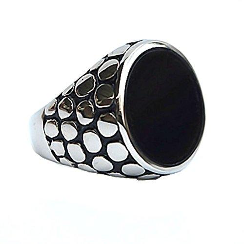 [RI1210018C2 Fashion Stainless Steel Non-Mainstream Tourism Memorial Men's Ring] (Brazilian Costume Ideas For Men)