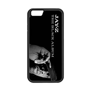 Hipster JAY-Z Pattern Solid Rubber Customized Cover Case for iPhone 6 4.7