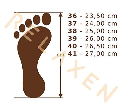 Geschenkkarton Relaxen Geschenk Filz Damen Hausschue Box Oma Super Wahlweise Grau FDI12 Filzpantoffeln Grau Pantoffel 448qdr