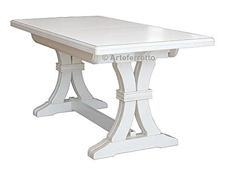 Tavolo Allungabile 360 Cm.Artigiani Veneti Riuniti Tavolo Allungabile Solida Struttura In
