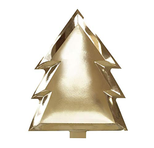 (Christmas Plates Christmas Paper Plates Holiday Party Tree Trimming Office Party Gold 8