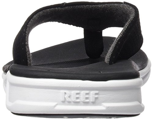 Reef Rover, Sandalias Flip-Flop para Hombre Varios colores (Black / White)