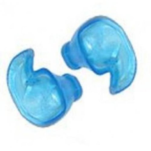 Medical Grade Doc's Pro Ear Plugs - Blue - Non Vented - Size Small-Medium