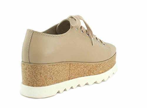 Natural Korrie Le Womens Low Leather Steve Up Madden Top Lace Fashion Sneakers Zwvnq6x