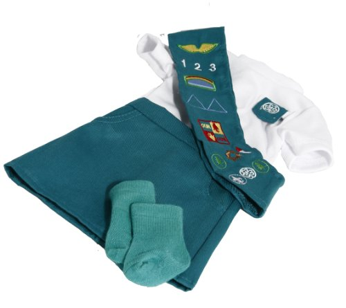BUYS BY BELLA Junior Girl Scout Outfit for 18 Inch Dolls Like American Girl