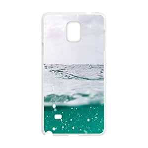 Clear Green Water Fashion Personalized Clear Cell Phone Case For Samsung Galaxy Note4