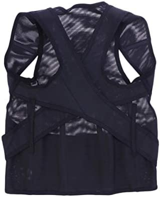 HEALIFTY 1pc Schulterhaltung Klammer Korrekturgurt Brust unterstützt Träger Größe m schwarz