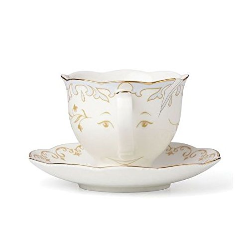 Disney Beauty & the Beast Live Action Chip Teacup & Saucer by Lenox -