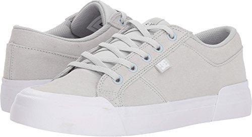 DC Women's Danni SE Skate Shoe, Grey, 9 Medium US