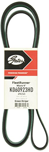 Gates FleetRunner K060923HD Micro-V Belt ()