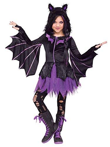 Fun World Night Flyer Costume, Large,