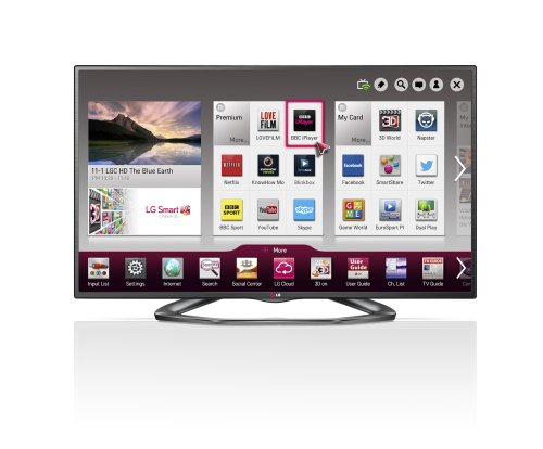 LG 55LA620V 55-inch Widescreen 1080p Full HD Cinema 3D Smart LED TV with Freeview HD/Built-In Wi-Fi