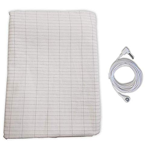 High Intensity Earthing Recovery Bag, Bed Sheet with 15ft Cable. Earthing Sleeping Bag for Full Body Earthing to Get The Best Possible Results. Originally Designed for Athletes