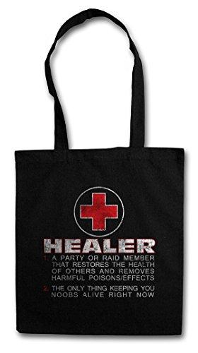 HEALER ROLE Hipster Shopping Cotton Bag Borse riutilizzabili per la spesa