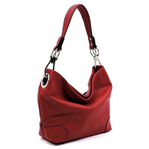 Bucket Handbag Shoulder Hobo Bag Fashion Classic 79 Purse Elphis red EwIYqHXxq