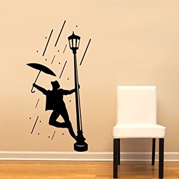 Singing In The Rain Gene Kelly Large Wall Decal Sticker Home ...