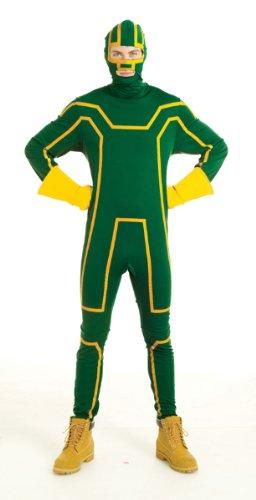 Paper Magic Men's Kick Ass Costume,Green,Large