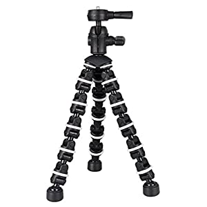 "Professional Flexible BendyPod for Canon EOS 70D Camera, 13"" Tripod - Quick Release - Sturdy Grip - Every Day Use!"