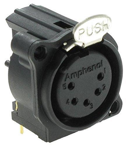 10 pieces XLR Connectors FML SKT 5 CONT NICKEL PLTD