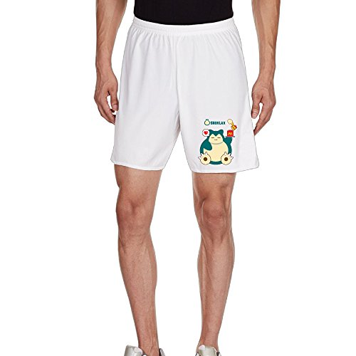 megge-mens-hungry-snorlax-leisure-home-shorts-xl