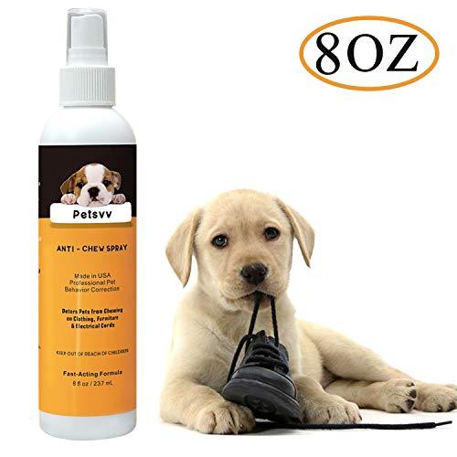 Petsvv No Chew Spray Deterrent for Dogs
