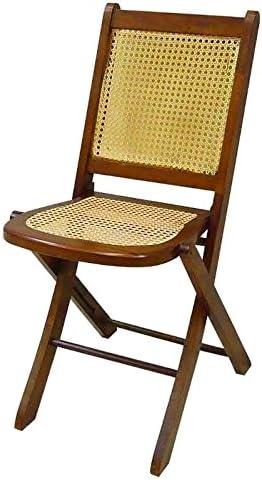 Better & Best Silla de Rejilla Plegable, Color marrón, Madera ...