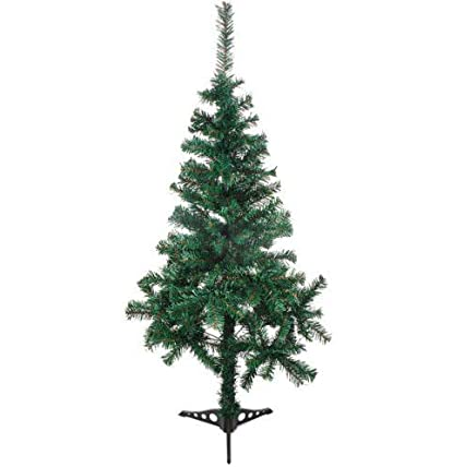 eddea4b0080 Image Unavailable. Image not available for. Color  Tazaha 4 6 7 Feet Tall  Christmas Tree W Stand Holiday Season Indoor