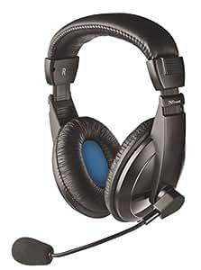 Trust Quasar - Auriculares con micrófono de Diadema Cerrados