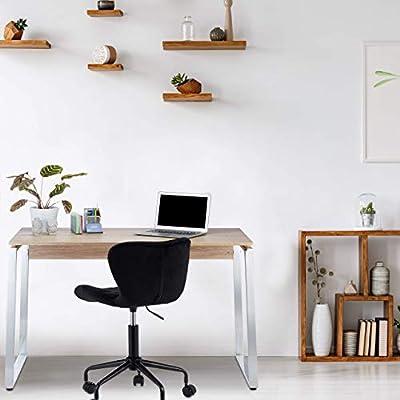 Relaxdays Escritorio de despacho, Home Office, Mesa de PC ...